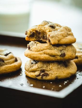 Kotoiluun - amerikkalaiset pehmeät suklaahippucookiet